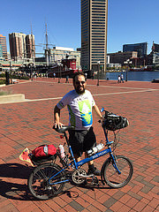 Jack in Baltimore (courtesy of jackbikes.org)