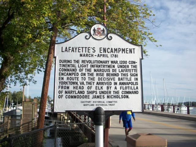 Lafayette in Annapolis