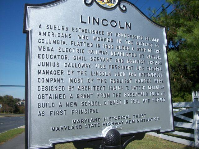 Lincoln suburb
