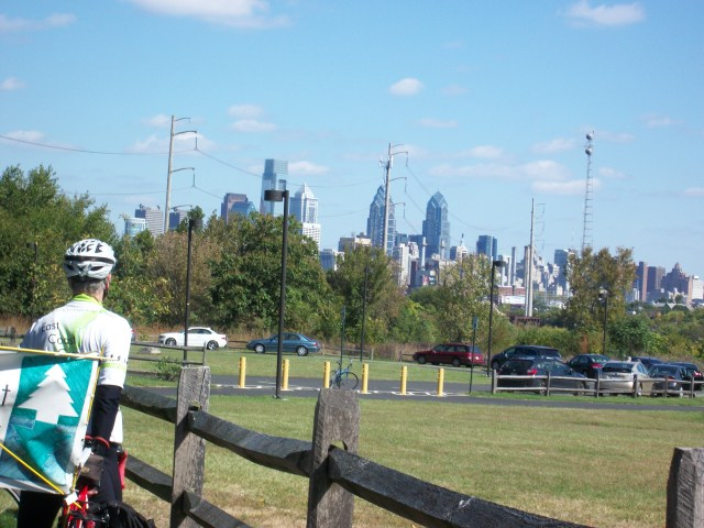 Philadelphia from Bartram's Garden