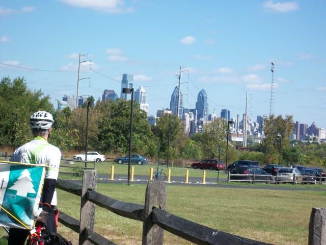 Philadelphia from Bartram's Garden