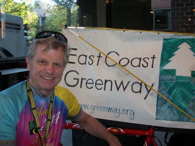 Rob and his ECG flag