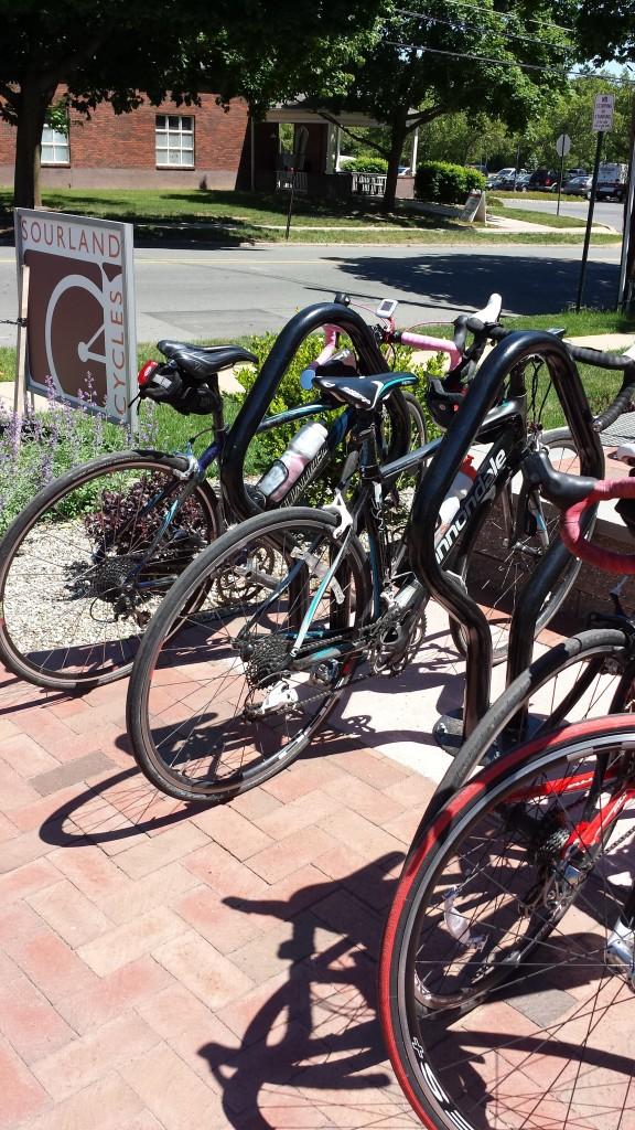Bikes in Hopewell