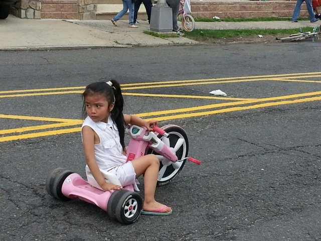 ciclovia little girl