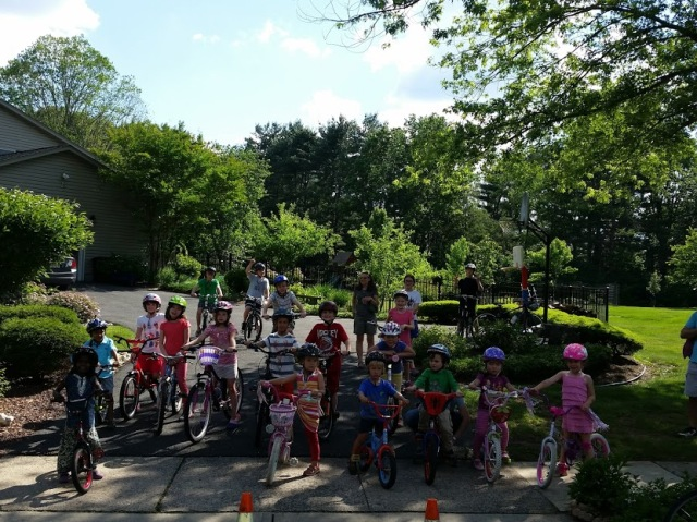 Ready for a bike lesson