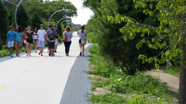 On the Bloomingdale Trail