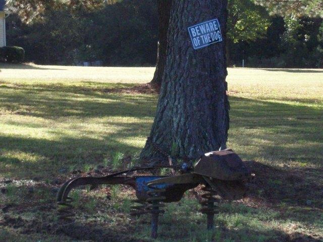 yard sculpture