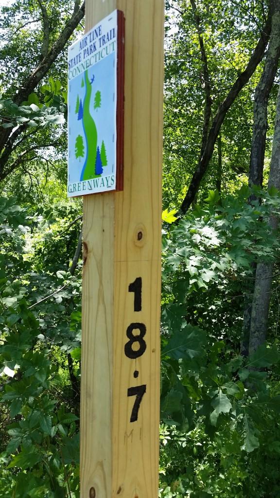 airline trail mile marker