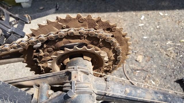 dusty bike