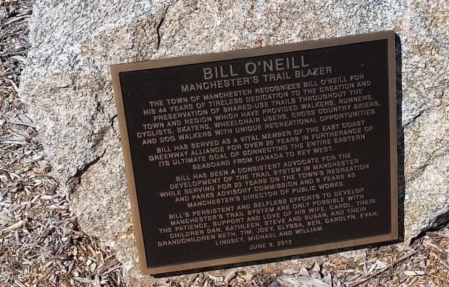 ecg bill oneill plaque