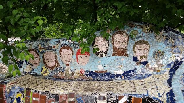 grants tomb mosaic