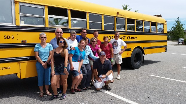 ECG group and the school bus