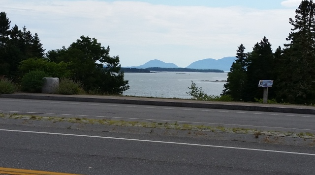 Acadia from the road