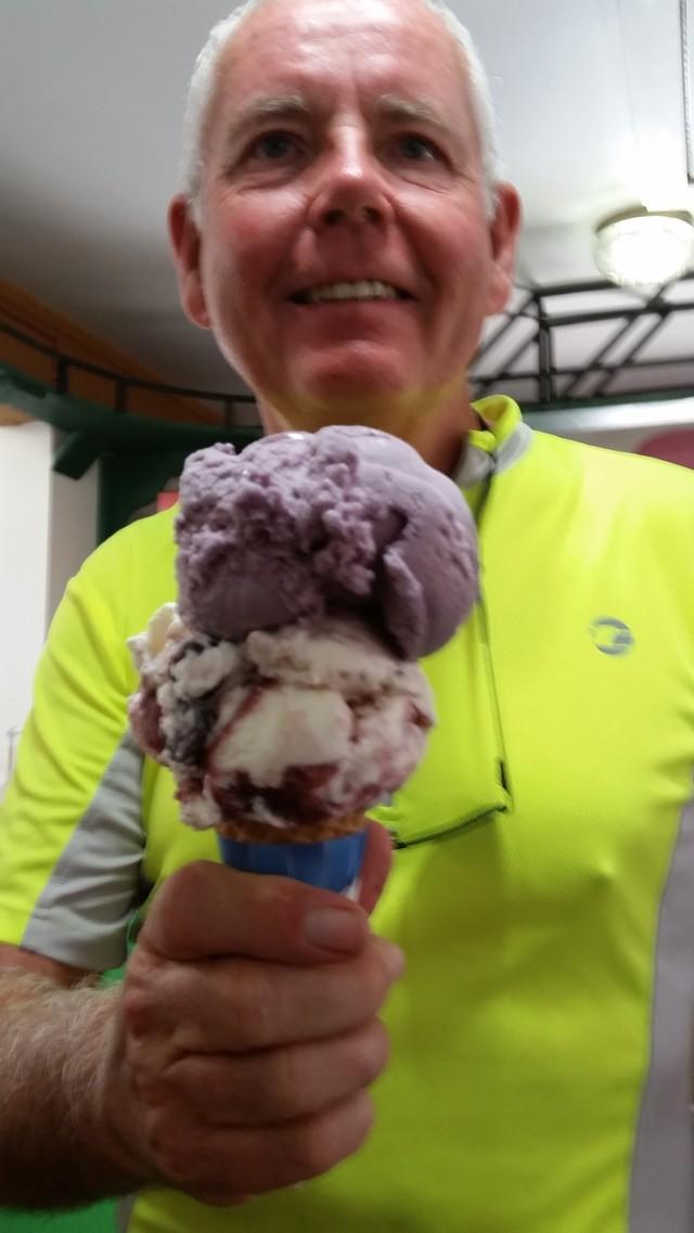 ecg chris and ice cream