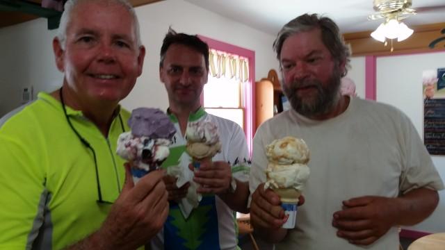 ecg ice cream trio