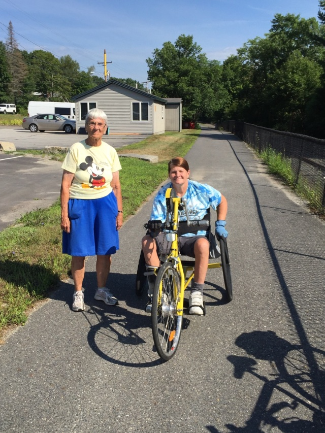 ecg kennebec river trail users