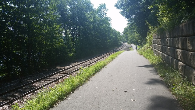 ecg kennebec river trail with rail