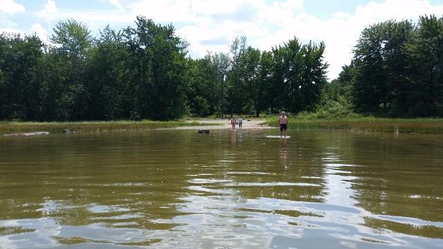 ecg unity pond shallow