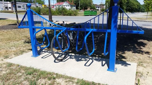 ecg waterville bridge bike rack