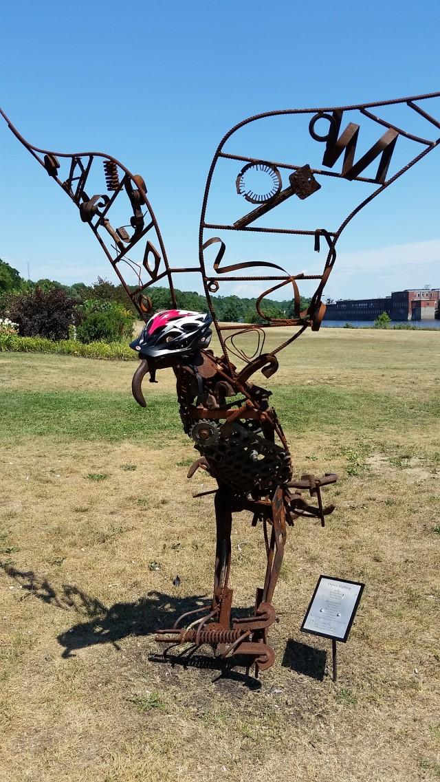 ecg waterville sculpture