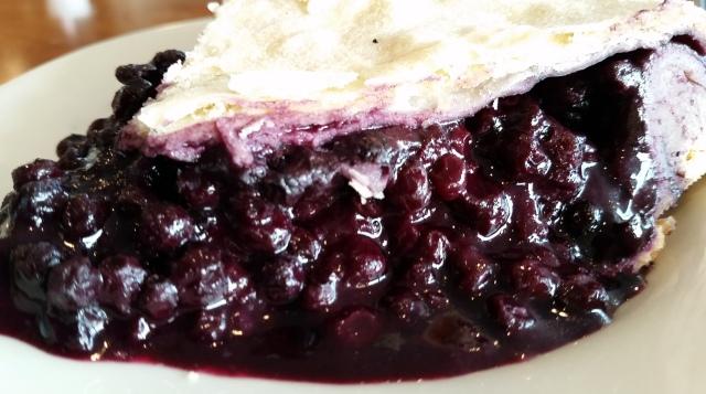 my blueberry pie