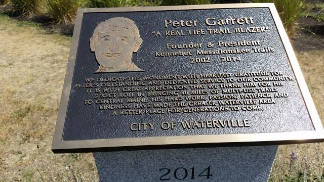 peter garrett plaque