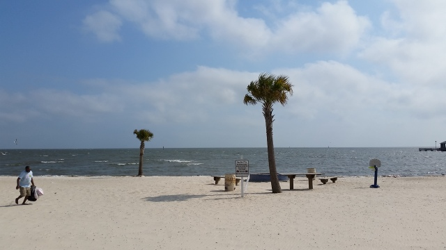 wide beach shot